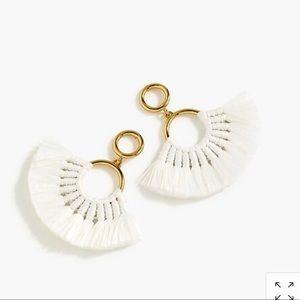 J.crew fan tassel earring